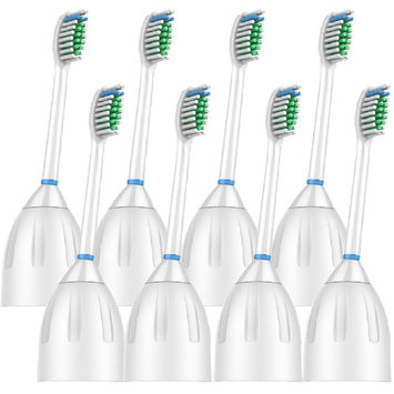 VeniCare Generic Replacement Electric Toothbrush Heads Compatible for Philips Sonicare E-series HX7002 HX7022- 8 Pack
