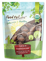 Food To Live ® Certified Organic Dried Apricots (Non-GMO, Bulk, Unsulfured) (2 Pounds)