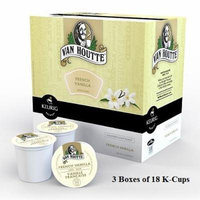 Van Houtte Flavored Coffee * FRENCH VANILLA * 48 K-Cups + 6 K-Cups for Keurig Brewers
