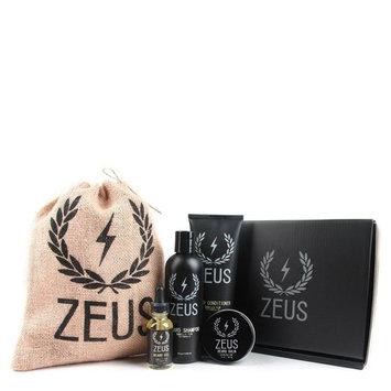 ZEUS Everyday Beard Grooming Kit, Vanilla Rum