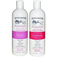 Stonybrook Botanicals Fragrance Free Unscented Shampoo and Conditioner Set