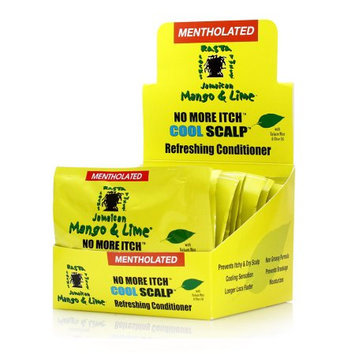 Rasta Mango & Lime No More Itch Cool Scalp Conditioner Packets (Pack of 12)