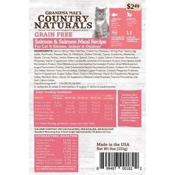 Pet Food Experts 46000179 3 lbs Grandma Maes Dry Grain Free Cat Salmon Meal - 6 per Bale