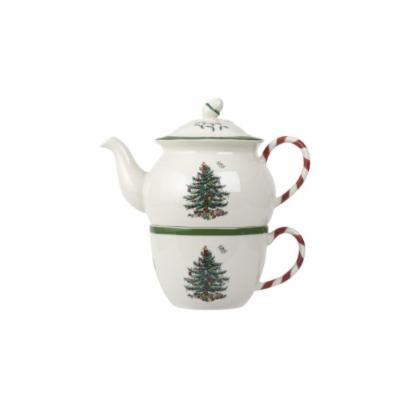Spode Christmas Tree Peppermint Tea for One