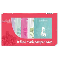Que Bella® Pamper Facial Mask Treatment Gift Pack