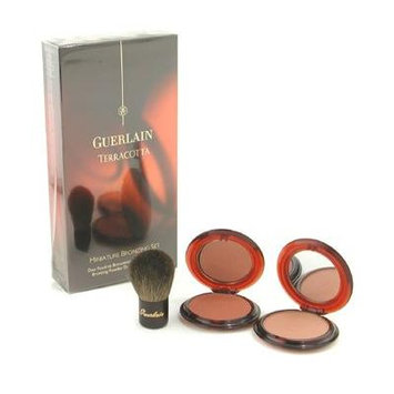 Guerlain Terracotta Miniature Bronzing Set: 2x Bronzing Powder, 1x Mini Kabuki Brush - 3pcs