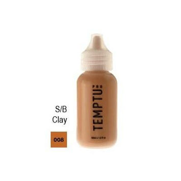 Temptu Pro Silicon Based 008 Clay 4oz. S/b Foundation Bottle