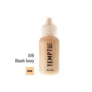 S/B 002 Blush Ivory 4 Oz. Temptu S/B Foundation Bottle