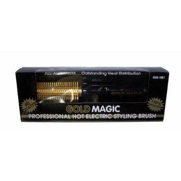 Gold Magic Professional Hot Electric Styling Brush