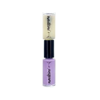 Nailtini - Double Shot Double-Ended Nail Lacquer - Sugared Violet