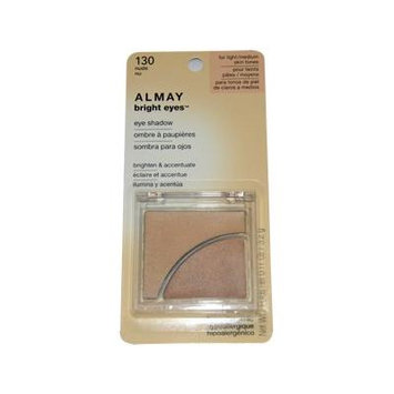 Bright Eyes Eye Shadow # 130 Nude By Almay for Women - 0.11 Oz Eye Shadow