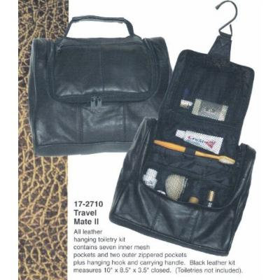 Leather Travel Mate II Toiletry Bag