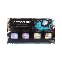 CITY COLOR EYE SHADOW WITH MIXED COLOR