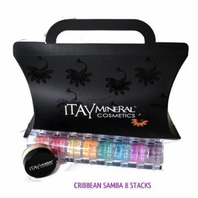 Itay Beauty Mineral Eye Shadow 8 Stacks Shimmers Color: