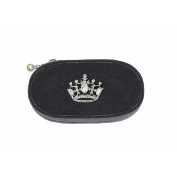 Silver Crown Small Make up Brush Case Set of 5 Brushes