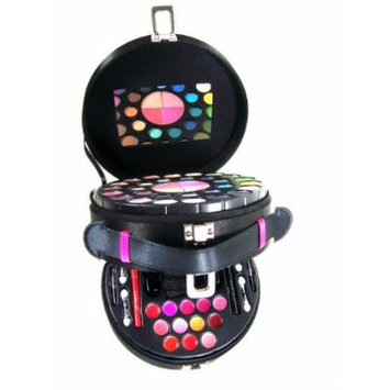 Carry All Double Layer Satin Color Professional Eye Shadow Makeup Kit Gift Set