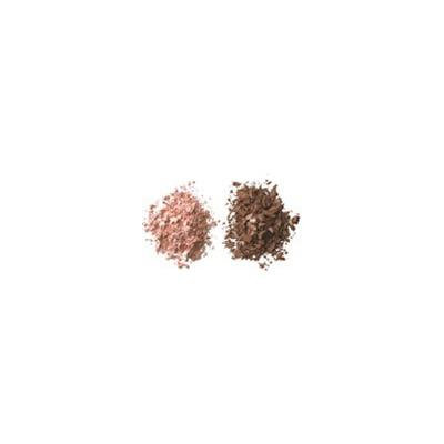 BeautiControl Eye Shadow Duo-Lox & Bagels (Frosted Peach & Warm Matte Brown)