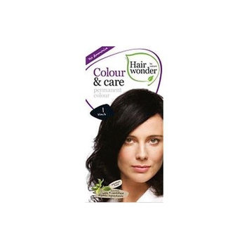 Colour and Care- 1 Black 3.50 Ounces by Hair Wonder by Nature
