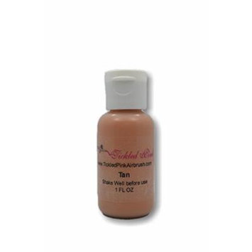 Tickled Pink Airbrush Water Based Foundation - Tan (1OZ)