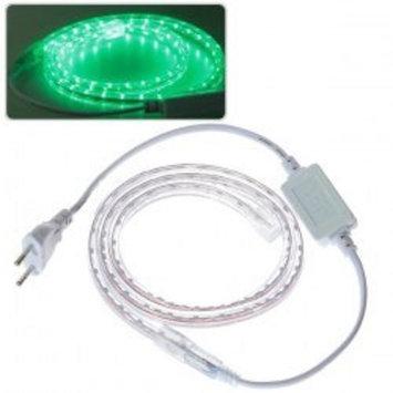 5m 220V 300 LEDs Green Light Waterproof LED Strip Light (3528 SMD LED)