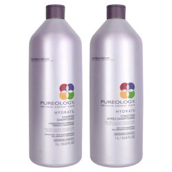 Pureology Hydrate Shampoo & Conditioner Liter Duo *Limited Edition* 2 piece