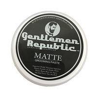 Gentlemen Republic Matte Grooming Paste Genuine Grooming for Men - 4 oz