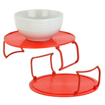 Red Microwave Tray