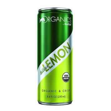 Organics by Red Bull Bitter Lemon 24 Pack 8.4 Fl Oz, Organic Soda Drink [Bitter Lemon]