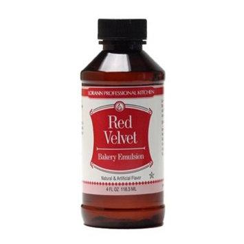 Red Velvet Bakery Emulsion Flavor 4 oz Lorann Oils