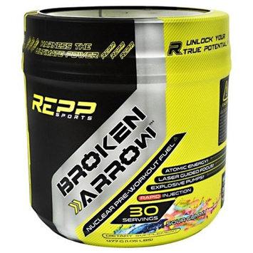 REPP Sports 9450012 Broken Arrow Dietary Supplement, Sour Gummy - 30 Per Serving