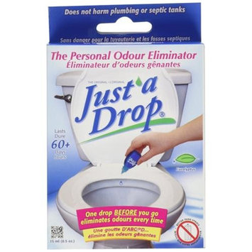 Just A Drop - Natural Toilet Odor Eliminator - Eucalyptus - 15 mL [1]