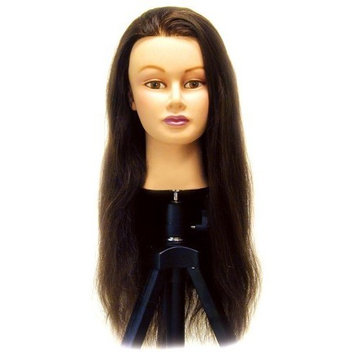 Celebrity Lauren Cosmetology Human Hair Manikin, 24-26 Inch