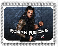 Whimsical Practicality WWE Roman Reigns Edible Icing Image Cake Topper (7.5 Inch Round)