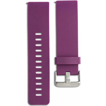 Onn by Walmart plum sport replacement band for use with fitbit blaze
