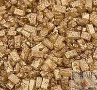 Kerry Sugar Crystals Gold Crystalz Bakery Topping Sprinkles 1 pound colored sugar