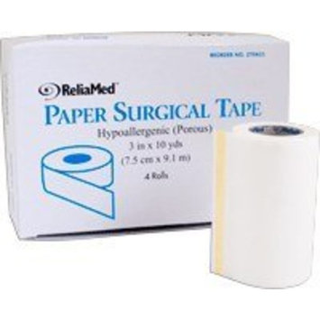 ZTPA03A - ReliaMed Paper Surgical Tape 3 x 10 yds.