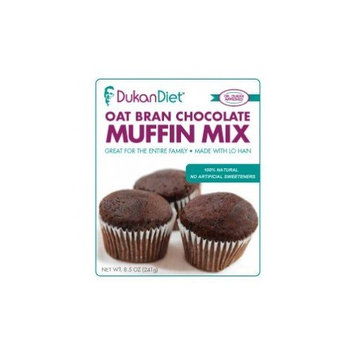 Dukan Diet Oat Bran Chocolate Muffin Mix – 10 oz. package