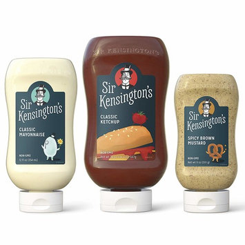 Sir Kensington's Condiment Mixed Picnic Pack, Pack of 3 [Plastic Squeeze Picnic Pack]