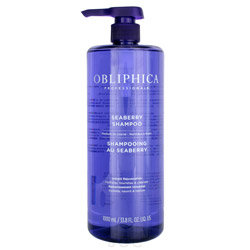 Obliphica Professional Seaberry Shampoo Medium to Coarse - Liter