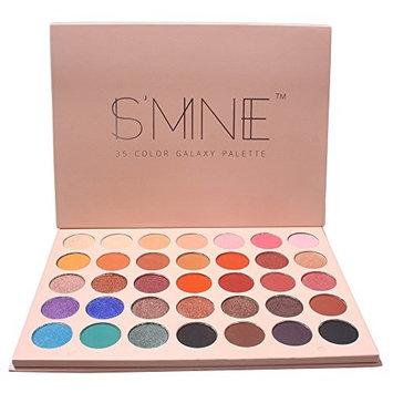 Eyeshadow Palette Makeup Palette IS'MINE 35 Colors Galaxy palette Eye Shadow Waterproof Powder Cosmetics