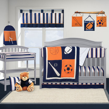 Pam Grace Creations All Star Sports 13 Piece Crib Bedding Set