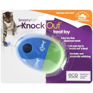E & B Giftware Worldwise 39328 SmartyKat KnockOut Treat Dispensing Toy