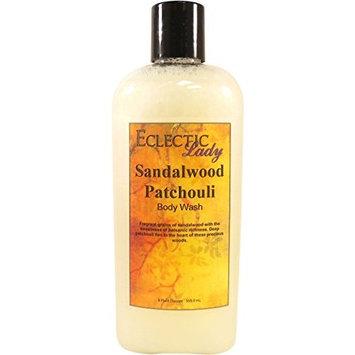 Sandalwood Patchouli Body Wash, 8 ounces