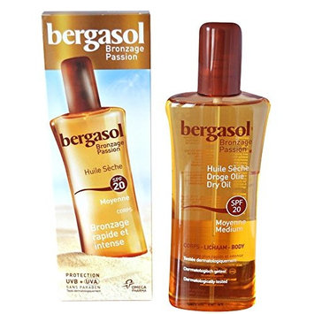 Bergasol SPF 20 Dry Oil Body 125ml
