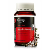 Comvita Certified UMF 20+ (Ultra Premium) Manuka Honey I New Zealand's #1 Manuka Brand I Non-GMO, Halal, and Kosher Certified I 250g (8.8oz)