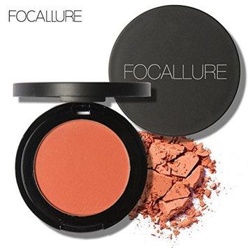 Binmer(TM) FOCALLURE Repair Capacity Powder Block Blush Exquisite Rosy Gloss Fine Outline (G)
