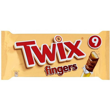 Twix Biscuit Fingers (9x23g) - Pack of 2