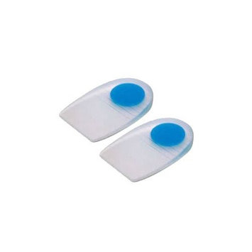 PediFix GelStep Heel Pads with Blue Zone Comfort - Center Spot / Neutral - Lg Cov