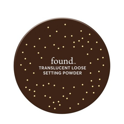 FOUND Translucent Loose Setting Powder with White Lily, 0.17 oz