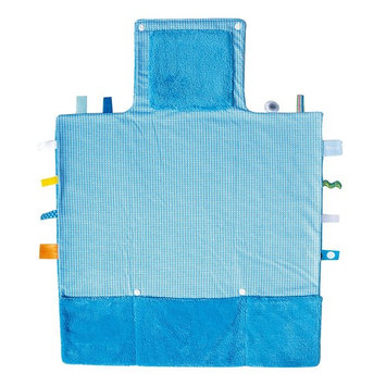Snoozebaby Easy Change Compact Diaper Changing Kit, Blue
